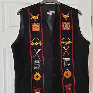 Tribal Waistcoats £120 each