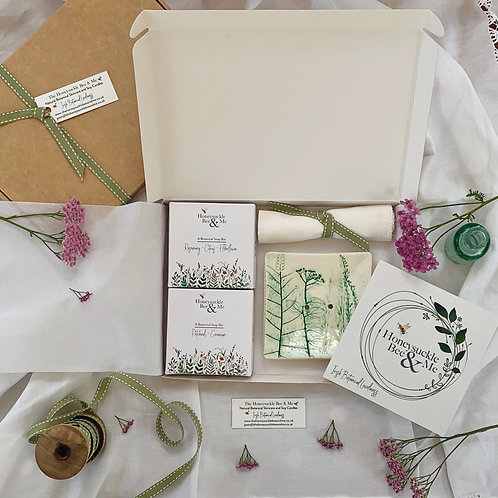 Botanical Soap and Dish Box