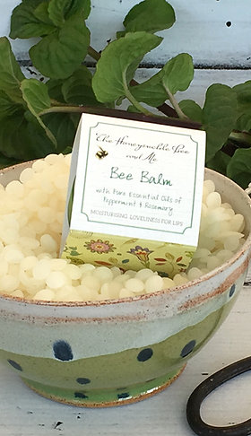 Bee Balm for Lips with peppermint & rosemary