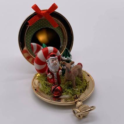 Santa and Vixen