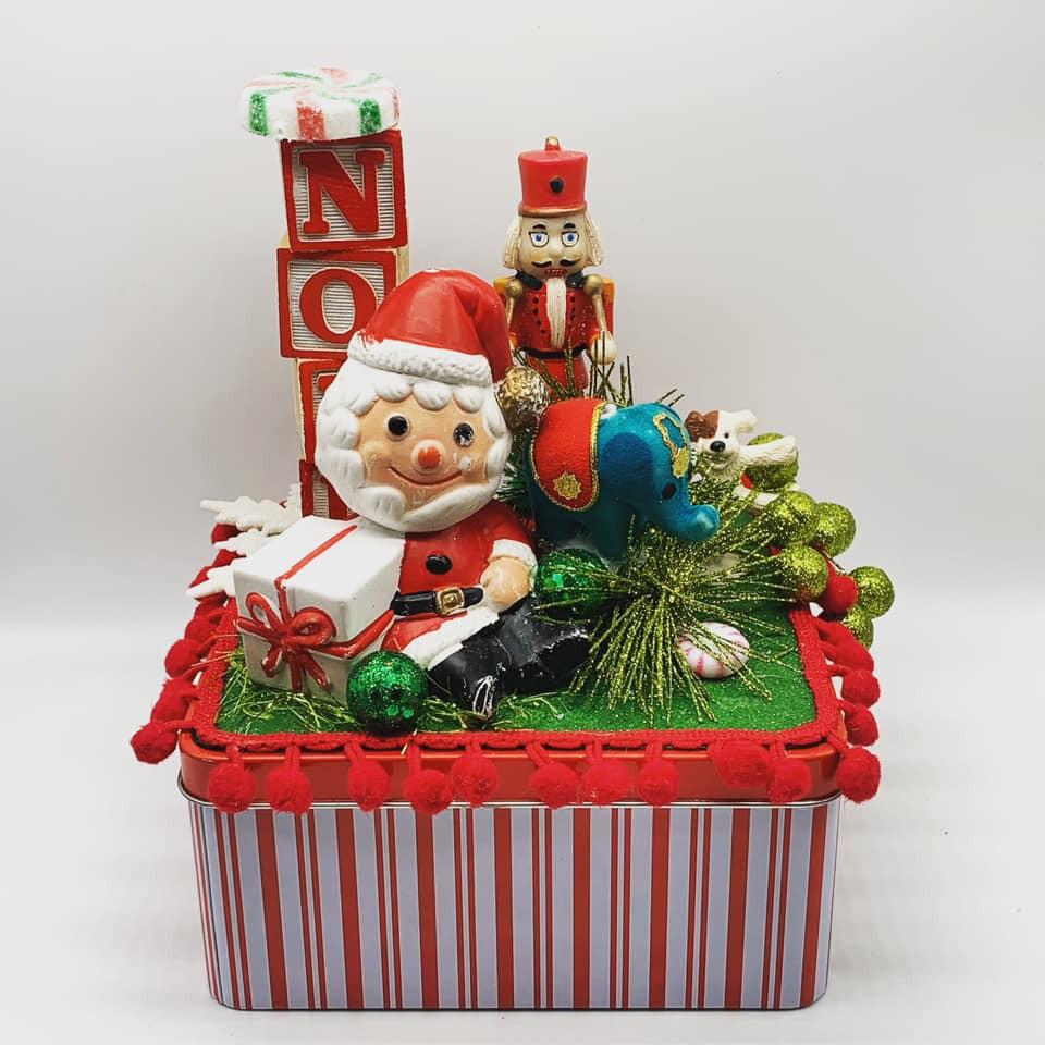 Santa in Toyland