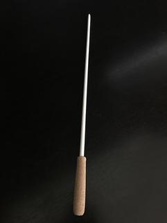 kort pinne i bjørk og kork. Custom-made