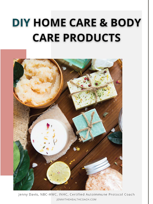 DIY Home Care & Body Care Products