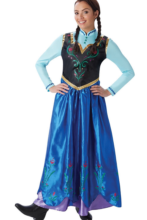 ANNA DELUXE COSTUME – WOMENS. 810414 RUBIES