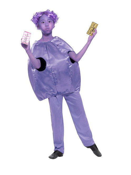 Child Violet Beauregarde Roald Dahl Costume. 41542 Smiffys