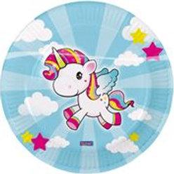 Plates Unicorn 23cm/8 F 65040