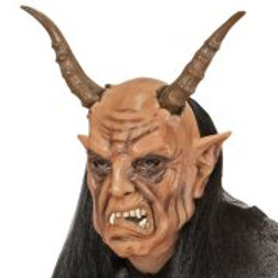 DEVIL MASK WITH WIG (02119)