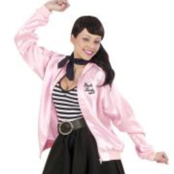 """50s LADY"" (satin jacket) 4363P W"