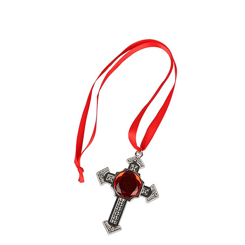 Deluxe Vampire Cross Medallion AC-9330 W