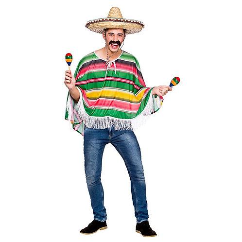 Mexican Poncho EM-3225 W