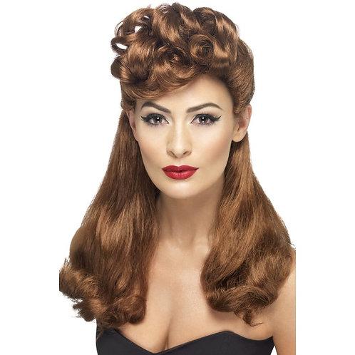 40'S Vintage Wig,Auburn. 42459 S