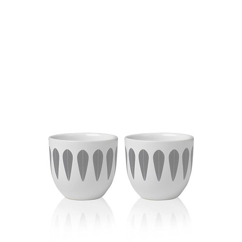Lotus egg cups (set of 2)