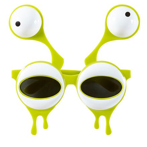 ALIEN GLASSES WITH DOUBLE EYES. 14402 Widmann