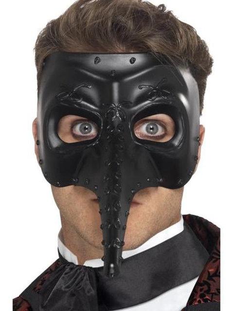Venetian Gothic Capitano Mask. 27656 Smiffys