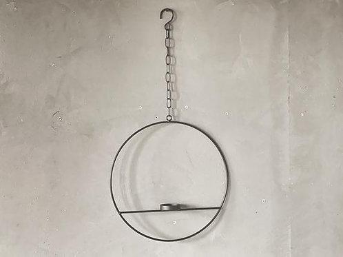 Rund metall lysholder heng for telys D:35cm  Produktnr:242923