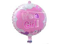 17In/43cm It's a Girl packed F 63104