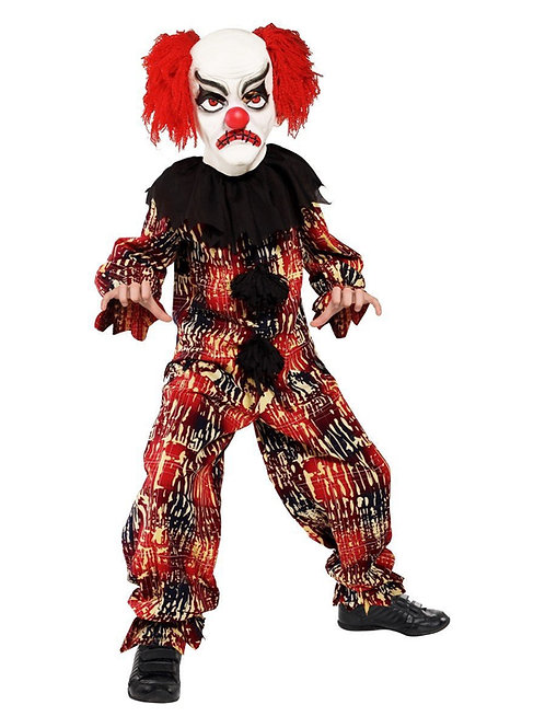 Scary Clown Costume. 36161 Smiffys