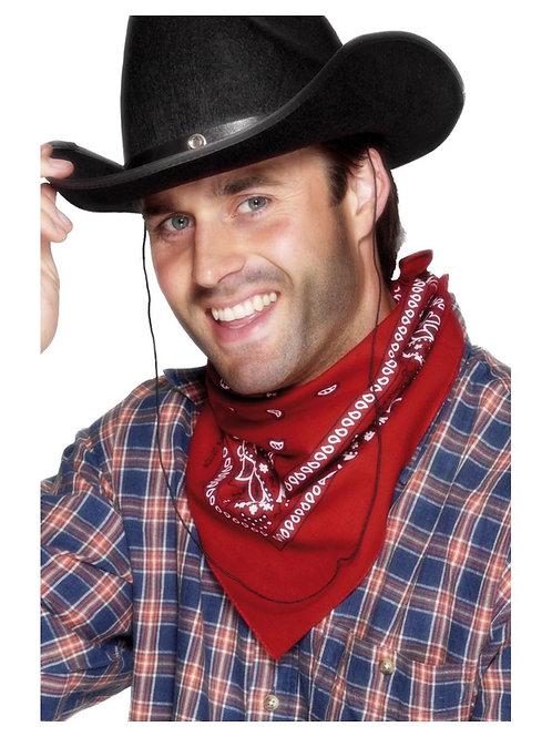 «Cowboy Bandana, Red, Western Design». 22296 S