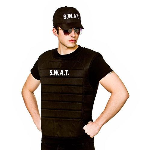 S.W.A.T vest & hat AC-9307 W