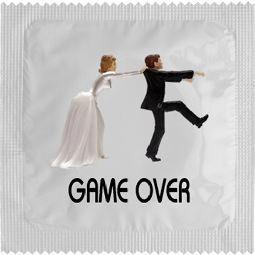 CONDOM GAME OVER. 78881 JOKER
