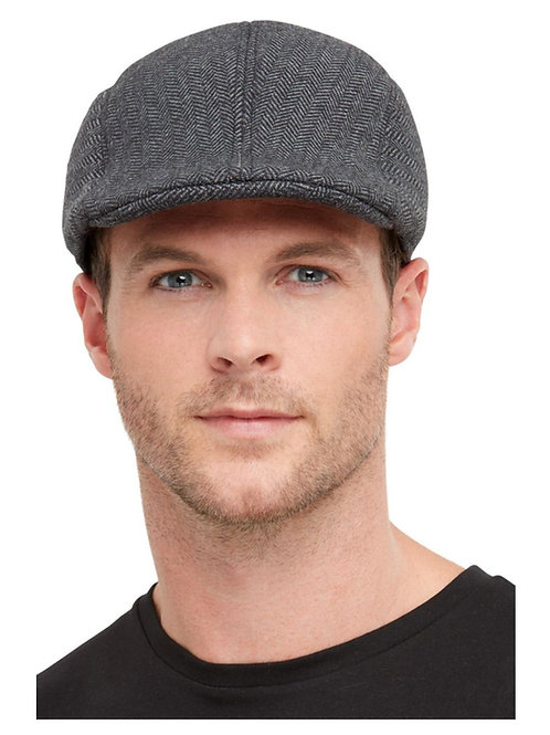 20s Gangster Flat Cap, Grey. 50984 S