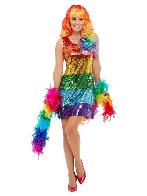 All That Glitters Rainbow Costume. 51001 Smiffys