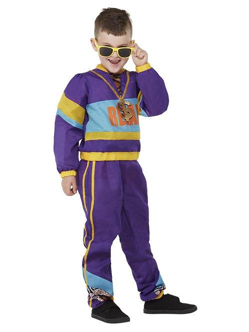 Boys 80s Relax Costume. 71069 Smiffys