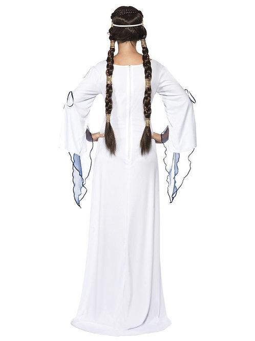 Medieval Maid Costume, White. 33409 Smiffys