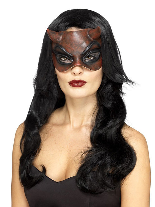 Masquerade Devil Mask, Ladies. 45090 Smiffys