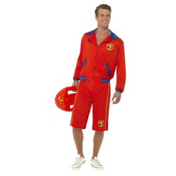 Baywatch Beach Men's Lifeguard Costume 32893 S