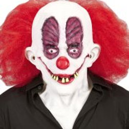 GOOFY CLOWN MASK WITH HAIR & NECK (05406)