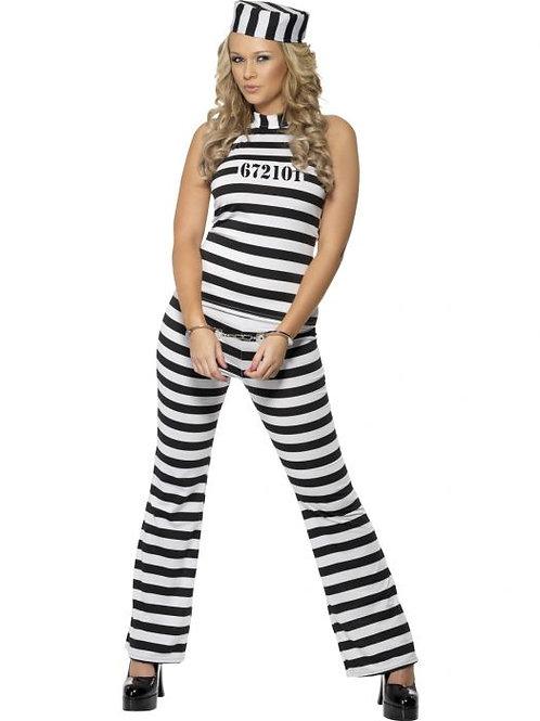 Convict Cutie Costume SKU 33723