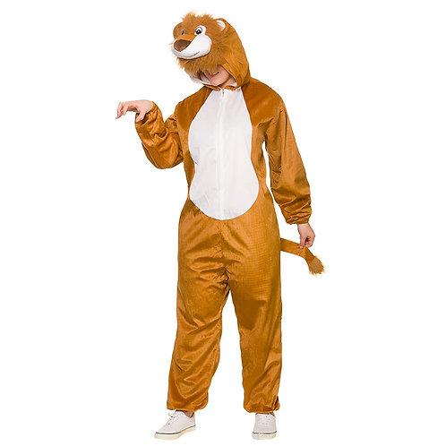 Adult Deluxe Jumpsuit - Lion AA-8926 W