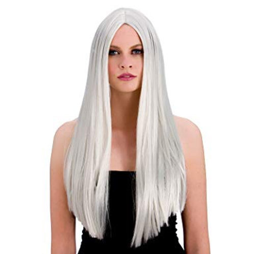 Classic Long Silver Wig EW-8003 W