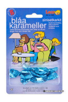BLÅ karameller