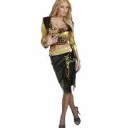 "BILLIONAIRE"" (jacket, top, skirt, belt) 55932 W"