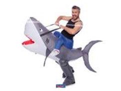 Inflatable Costume Shark F 63441