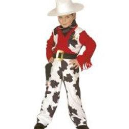 """COWBOY"""" (jumpsuit with vest, pistol holst... 4389P W"""