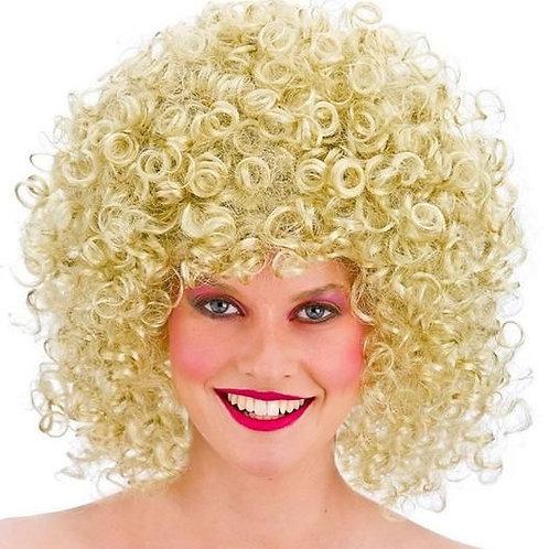 '80's Disco Perm Blonde Wig'. EW-8240 Wick