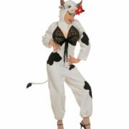 "COW"" (jumpsuit with breasts, headpiec  50991 W"