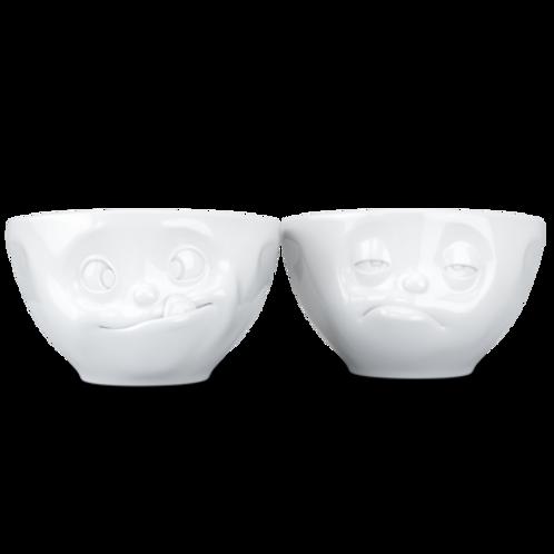 Medium bowls Set No.3 - tasty & snoozy