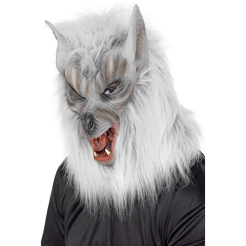 Wolf Mask, Silver SKU: 25564
