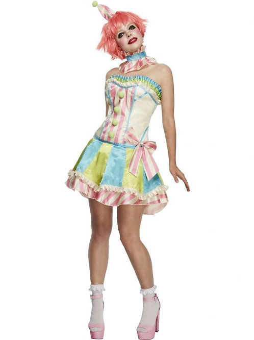 Fever Deluxe Vintage Clown Costume SKU 45367
