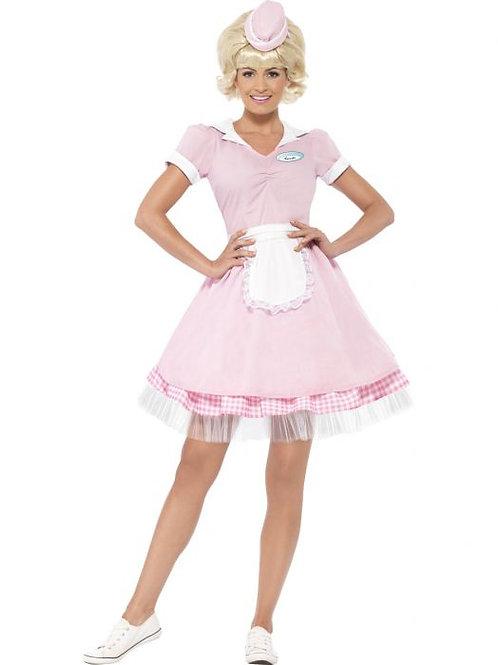 50s Diner Girl Costume SKU 43183