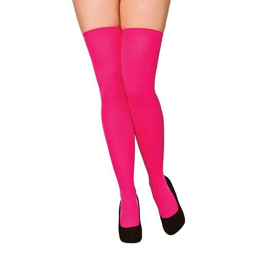 Thigh Highs - Hot Pink TS-7097 W