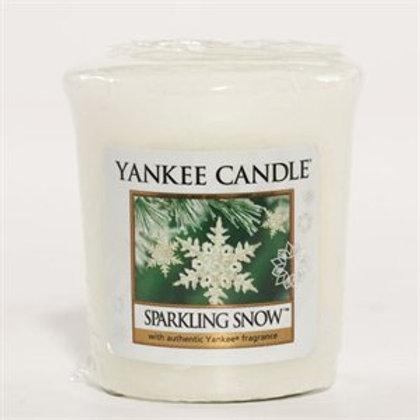 Votives-Sparkling Snow