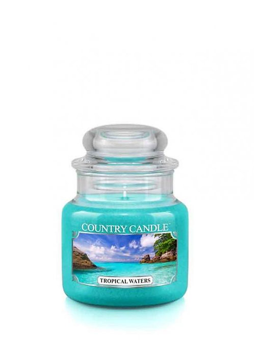 Country Candle -Tropical Waters - Mini Jar