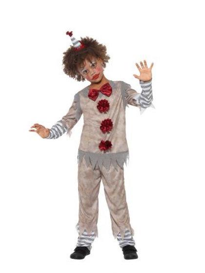 Vintage Clown Boy Costume 49844 S