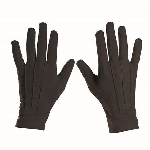 Black Gloves Mens. 4635E. W