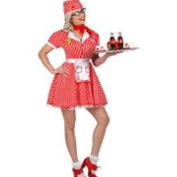 """50s WAITRESS"" (dress with petticoat, apro. W 48301"